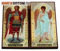 Складень двойной ростовой Архангел Михаил - Ангел Хранитель