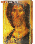 Икона Спас Звенигородский. Полиграфия, дерево, лак