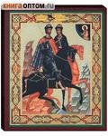 Икона святые мученики благоверные князья Борис и Глеб