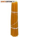 Свечи восковые конусные №130 (40 шт, длина 310мм, толщина основания 10мм)