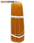 Свечи восковые конусные №15 (100 шт, длина 190мм, толщина основания 5мм)