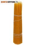 Свечи восковые конусные №25 (50шт, длина 250мм, толщина основания 6мм)