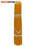 Свечи восковые конусные №30 (50шт, длина 300мм, толщина основания 8мм)