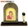 Подставка для ручки с иконой Пресвятой Богородицы