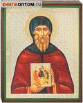 Икона преподобный Адрей Рублев, аналойная малая