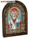 Икона Николай Чудотворец (возможны различия в цветовой гамме)