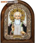 Икона Святой преподобный Сергий (возможны различия в цветовой гамме)