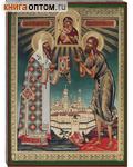 Икона Свт. Алексий и святой Алексий, человек Божий, аналойная