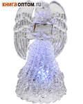 Ангел на светодиодной подсветке.  Размер 100*50мм