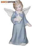 Ангел фарфоровый  со звездой