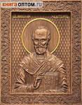 Икона резная Святитель Николай Чудотворец