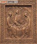 Икона резная Святая Троица