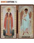 Складень Ольга св.равноап.княгиня - Ангел Хранитель двойной ростовой