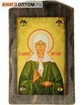 Икона на дереве Святая Матрона Московская