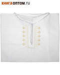 Рубашка (подростковая) для Крещения и купания в Святых источниках. Размер 32