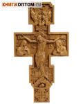 Крест аналойный резной 37*19,8см, дуб