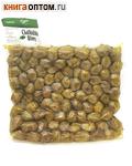 Оливки Халкидики (зеленые) L с косточкой (вакуумная упаковака, 1кг)