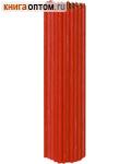 Свечи церковные красные (50% воска) №10, 2кг (70шт в пачке, размер свечи 360 х 10мм)