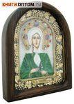 Икона Святая блаженная Ксения Петербургская (возможны различия в цветовой гамме)